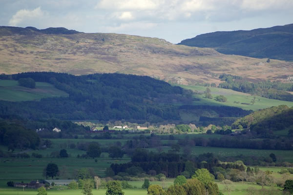 View around Strathtay