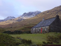 Batavaime Bothy on Glenlochay
