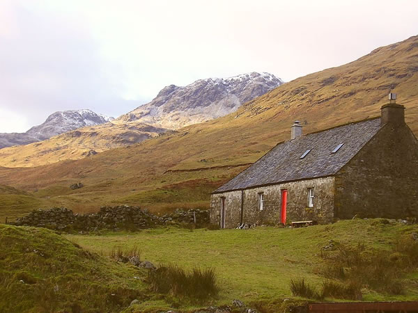 Bothy at Glen